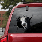 [sk1239-snf-lad] Dairy cow Crack Sticker cattle Lover