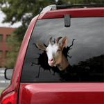 [sk1280-snf-tpa] Goat Crack Sticker Cattle Lover