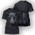 COW ANGUS CATTLE TSHIRT 3D Printed