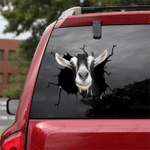 [sk1647-snf-tpa] Alpine Goat Crack Sticker Cattle Lover