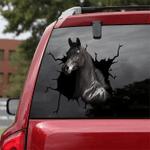 [sk1852-snf-tnt] Arabian Horse Crack Sticker Cattle Lover