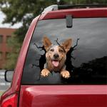 [DT0783-snf-tnt] Australian Cattle Dog Crack Car Sticker Dog Lovers