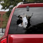 [sk1646-snf-tpa] Alpine Goat Crack Sticker Cattle Lover