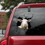 [sk1311-snf-lad] DORSET SHEEP Crack Sticker cattle Lover