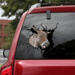 [sk1214-snf-lad] Donkey Crack Sticker cattle Lover