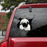 [sk1314-snf-lad] Sheep Crack Sticker cattle Lover
