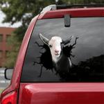 [TH0067-snf-tpa] Nigerian Dwarf Dairy Goat Crack car Sticker cattle Lover
