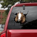 [sk1298-snf-lad] nubien goat Crack Sticker Cattle Lover