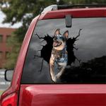 [LD0276-snf-lad] Australian Cattle Crack car Sticker dogs Lover