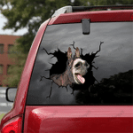 [sk1217-snf-lad] Donkey Crack Sticker cattle Lover