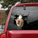 [sk1059-snf-lad] Funny DAIRY Cow Car Sticker Cattle Lover