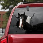 [DA0043-snf-tnt] Spotted Saddle Crack car Sticker Cattle Lover