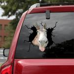 [BV0139-snf-ptd] Mule cattle Crack car Sticker cattle Lover
