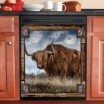 Highland Cattle Decor Kitchen Dishwasher Covers