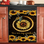 Turtle Sunflower You Are My Sunshine Ocean Dishwasher Cover