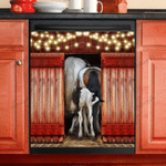 Love Horse Dishwasher Cover 5