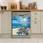 Turtle Ocean Dishwasher Cover 13