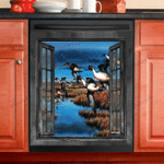 Duck in Farm Dishwasher Cover