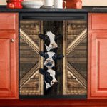 Cow Cattle Diary Dishwasher Cover