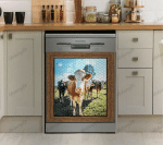 Love Cow Dishwasher Cover 13