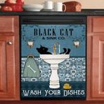 Black Cat Dishwasher Covers