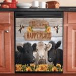 Three Cows Sunflower And Hummingbird Decor Kitchen Dishwasher Cover