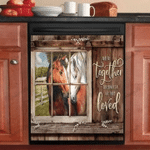 Horse and So Together Decor Kitchen Dishwasher Cover