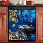 Turtle Ocean Dishwasher Cover 16