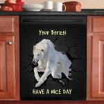 BORZOI NBN250497 NO20 TAD00 DECOR KITCHEN DISHWASHER COVER