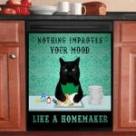 Black Cat Homemaker Dishwasher Cover