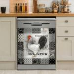 Rooster Chicken Decor Kitchen Dishwasher Cover AZS027