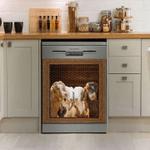 Goat Decor Kitchen Dishwasher Cover