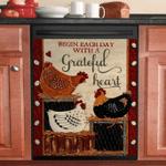 Chicken Hen Begin Each Day With A Grateful Heart