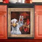 Rooster Chicken Look At You Dishwasher Cover