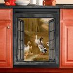 Duck Decor Kitchen Dishwasher Cover