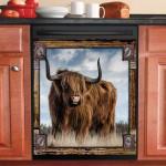 Highland Cattle Decor Kitchen Dishwasher Covers 2