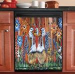 Poultry Farming Decor Kitchen Dishwasher Cover 14