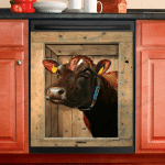 Love Cow Dishwasher Cover 3