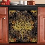 Dragonfly Pattern Decor Kitchen Dishwasher Cover