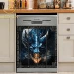 Fantasy Dragon Kitchen Decor Dishwasher Cover 07