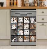 Funny Meme Cats Decor Kitchen Dishwasher Cover