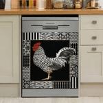 Rooster Chicken Decor Kitchen Dishwasher Cover 17