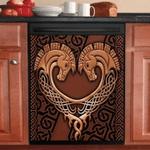 Celtic Couple Horse Decor Kitchen Dishwasher Cover