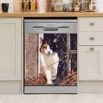 Cute Cat Dishwasher Cover 13