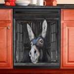 Donkey Lovers Dishwasher Cover 3