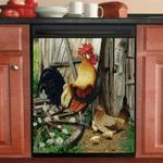Poultry Farming Decor Kitchen Dishwasher Cover 27