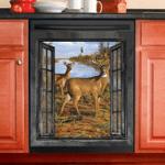 Deer Hunting Dishwasher Cover