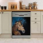 Horse A Perfect Pleasure Decor Kitchen Dishwasher Cover