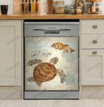 Turtle Ocean Dishwasher Cover 1