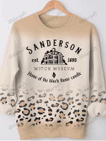 Sanderson Witch Print Long Sleeve Sweatshirt